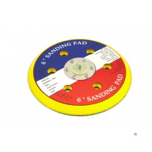 HBM 150 mm sanding pad with extraction holes