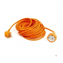 relectric 20 meter extension cord orange 3 x 1.0 mm