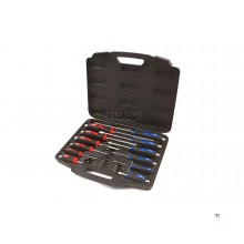 HBM Profi 12 Piece Impact-resistant Screwdriver Set