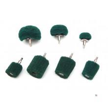 cônes de ponçage hbm vert k240