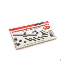 Mannesmann Precision Tap and Cutting Nut Set 31-Piece