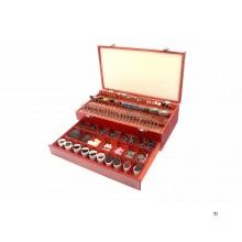 Assortiment multi-outils hbm 500 pièces
