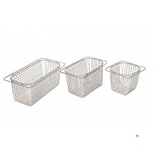 HBM basket for the table-top models HBM ultrasonic cleaners