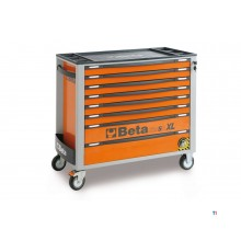 Beta C24 SA - XL tool cart with 8 drawers