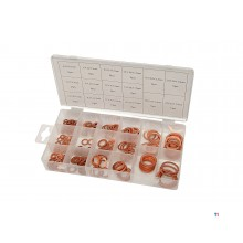 HBM 205 Piece Copper Rings Assortment