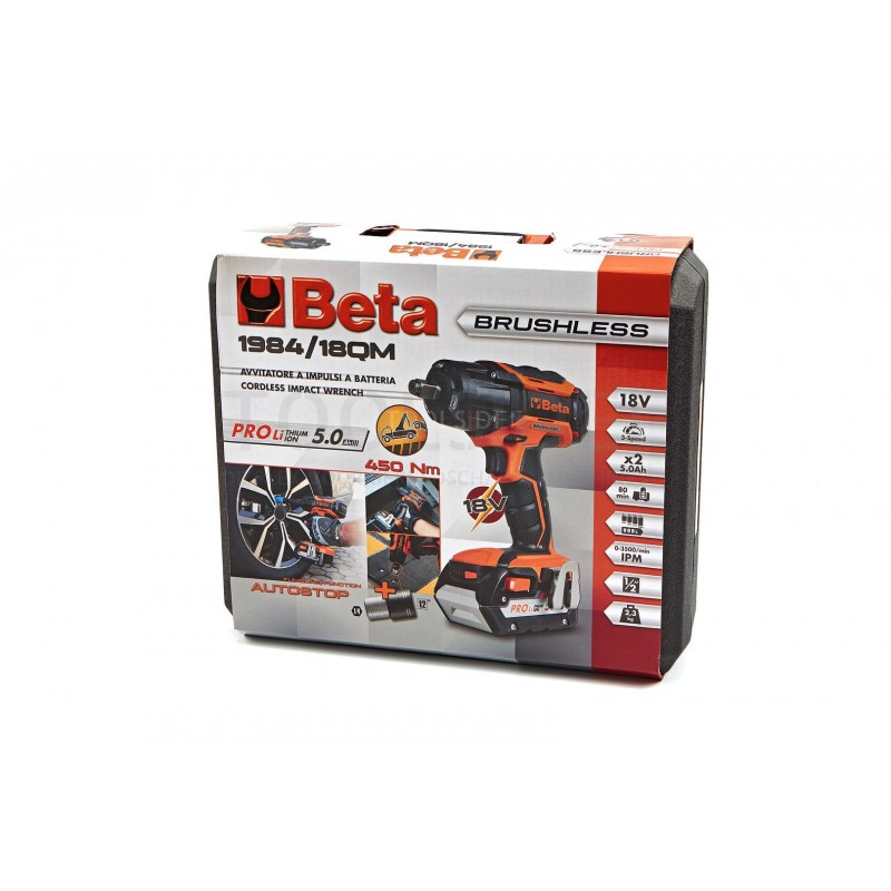 Beta 18V Battery - Nut Driver - 1984 / 18QM