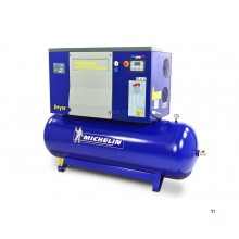 Michelin 7.5 HP 270 Liter Screw Compressor With Dryer RSXD 7.5 / 300
