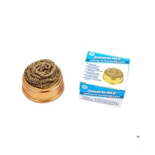 Silverline soldering tip cleaning ball and base