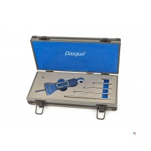 Dasqua 6-part professional digital depth gauge