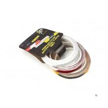 toolpack 338.090, jeu de 3 bandes adhésives haute visibilité, bande de sécurité