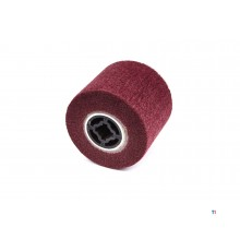 HBM Nylon Web Sanding Cylinder For Satin Machine 100 x 120 mm Grit 240