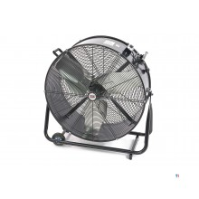 Ventilateur professionnel hbm 760 mm, mobile, débit d'air 10200 m3 / h