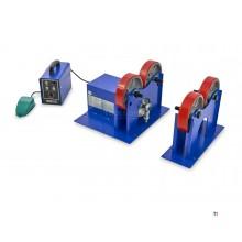 support de rouleau de soudage professionnel hbm 1000 kg.