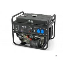 Generatore HBM, aggregato 5500 Watt, con motore a benzina 420cc OHV