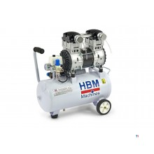 HBM 30 Liter 1,5 PK Professionele Low Noise Compressor