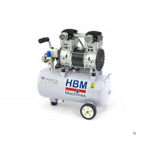 HBM 30 liter 1,5 HP professionell lågbrusskompressor - andrahand