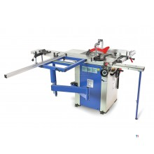 HBM 1600 professional panel saw, circular saw table with roller table