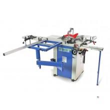 HBM 1600 Profesjonell Panelsag, Sirkelsagbord med Rolling Table