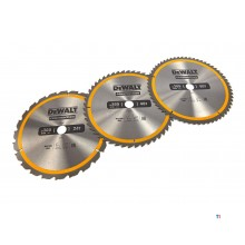 Accesorii Dewalt DT1964-QZ circular pânzei de ferăstrău 305 x 30 mm 3-Pack DT1958-QZ + DT1959-QZ + DT1960QZ