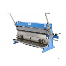 HBM 1015 mm. roller, set and cut combination with 2 arms model 2