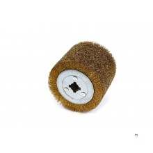 HBM steel brush for satin machine 100 x 115 mm.
