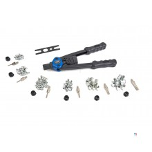 HBM 104 Piece Professional Blind Riveter Set i koffert
