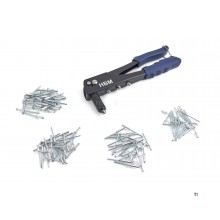 HBM 101 Piece Pop rivet pliers Set 2.4 - 4.8 mm.