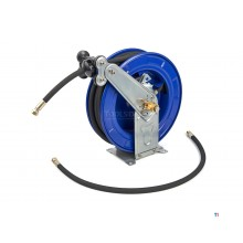HBM 175 bar high pressure air reel suitable for water, air and grease