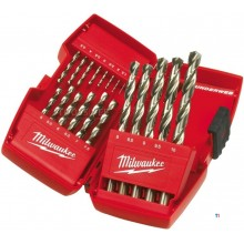 Milwaukee 4932352374 19-parte Metaalborenset în caseta
