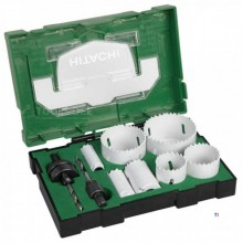 HiKOKI 11 Piece Bi-Metal Hole Saw Set