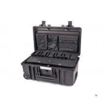 Apox GT-LINE 51-22 caja de herramienta impermeable profesional PTS con ruedas y manija telescópica GT