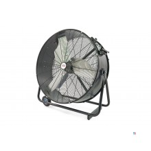 Ventilateur professionnel hbm 900 mm, mobile, débit d'air 27600 m3 / h