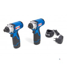 HBM 10.8 battery impact wrench and screwdriver