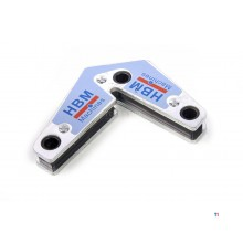 HBM universal welding magnet 15 - 60 - 90 and 120 degrees angle