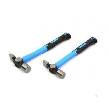 HBM tenon hammers with anti-slip fiberglass handle