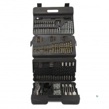 Hyundai 205-piece Combination Drilling Set in Case