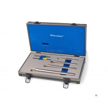 Harlingen Professional 4-part Internal lathe tool set with HM inserts
