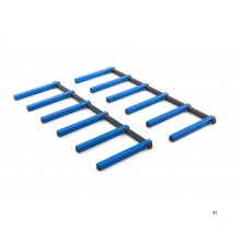Staffe per ripiano HBM a 6 strati, rack di stoccaggio