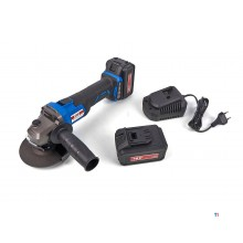 HBM 125 mm professional 18 volt 4.0ah angle grinder on battery