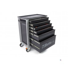 Beta C24S 6 / G Tool trolley with 235 Piece Easy Foam Inlay