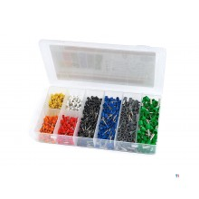 HBM 800 ferrules in various colors and sizes