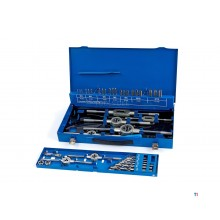 HBM 44 piece m3-12 tap and cutting set