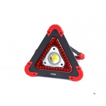 HBM LED Construction lamp, Safety lamp on Batteries 10 Watt - 450 Lumen and 36 LEDs