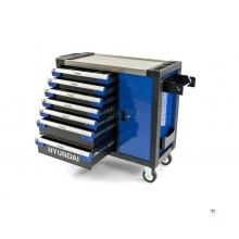 Hyundai 305 Piece XL Professional Filled Tool Trolley