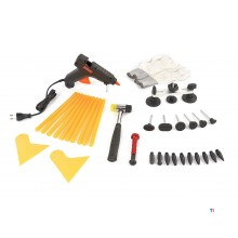 HBM 25-piece dent removal set, dent puller, dent removal without spraying