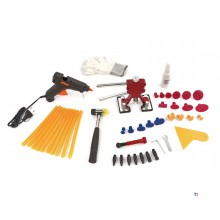 HBM 37-piece dent removal set, dent puller, dent removal without spraying
