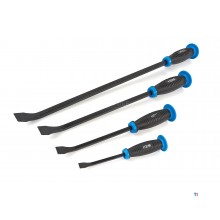 HBM 4 Piece Professional Impact Resistant Crowbar Set Model 2