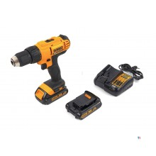 DeWalt DCD771C2 18V Li-Ion battery drill / screwdriver set (2x 1.5Ah battery) in case - DCD771C2-QW