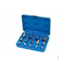 Stahlkaiser 14 Piece Internal Torx E-profile socket set