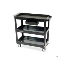 HBM deluxe 3-layer universal mobile tool trolley